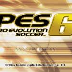 تحميل لعبة بيس 6 Pro Evolution Soccer برابط تحميل مباشر