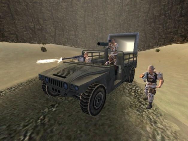 تحميل لعبة عاصفة الصحراء