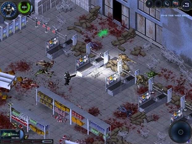تحميل لعبة alien shooter