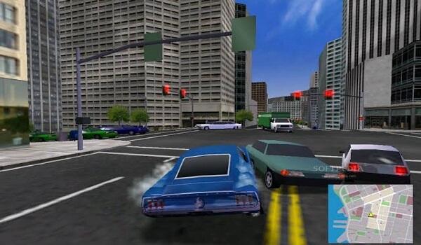 لعبة سيارات المدينة للكمبيوتر
