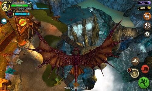 لعبة school of dragons للكمبيوتر