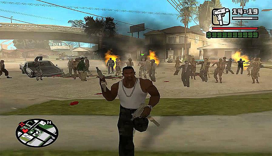شفرات GTA San Andreas